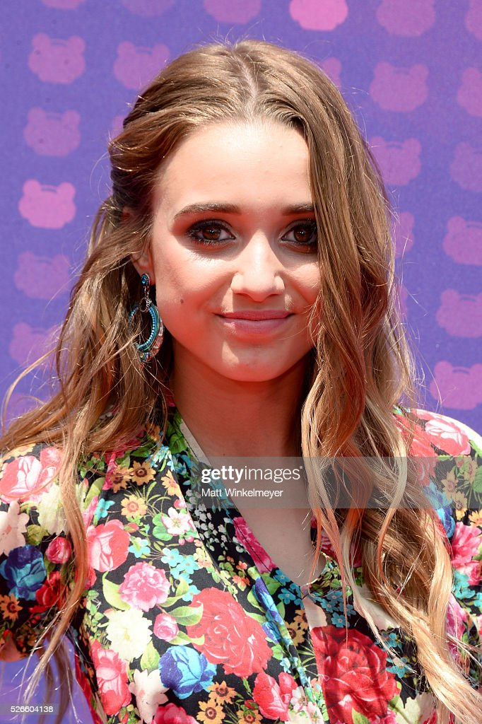 Singer Heather Russell attends the 2016 Radio Disney Music Awards at Microsoft Theater on April 30, 2016 in Los Angeles, California.
