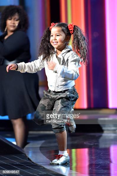 Singer Heavenly Joy performs onstage during BET Celebration Of Gospel 2016 at Orpheum Theatre on January 9 2016 in Los Angeles California