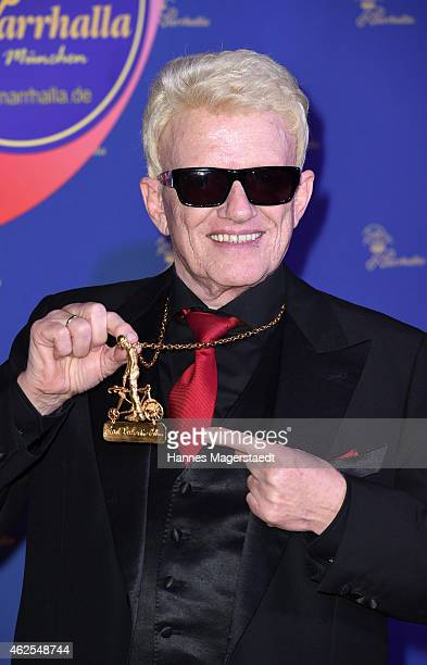 Singer Heino attends the 'Narrhalla Soiree 2015 at Deutsches Theater on January 30 2015 in Munich Germany