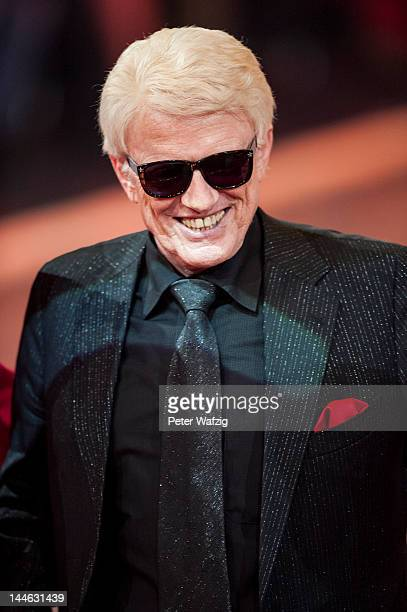 Singer Heino smiles during 'Let's Dance' Semi Finals at Coloneum on May 16 2012 in Cologne Germany