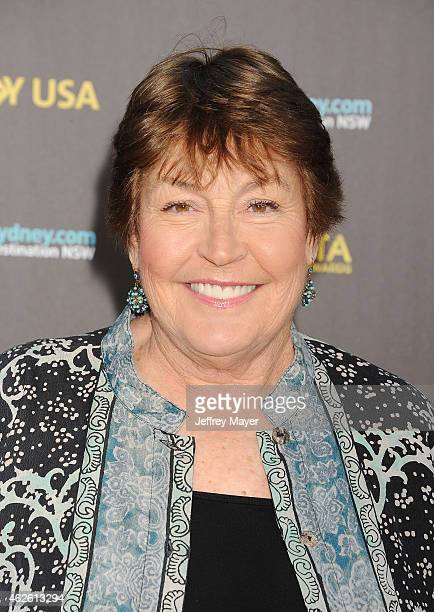 Singer Helen Reddy attends the 2015 G'Day USA Gala featuring the AACTA International Awards presented by Qantas at Hollywood Palladium on January 31...
