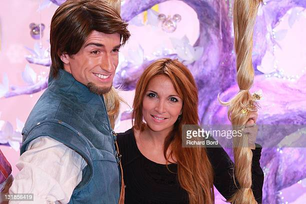 Singer Helene Segara attends the Raiponce Premiere during the Christmas Season Launch at Disneyland Paris on November 6 2010 in Paris France