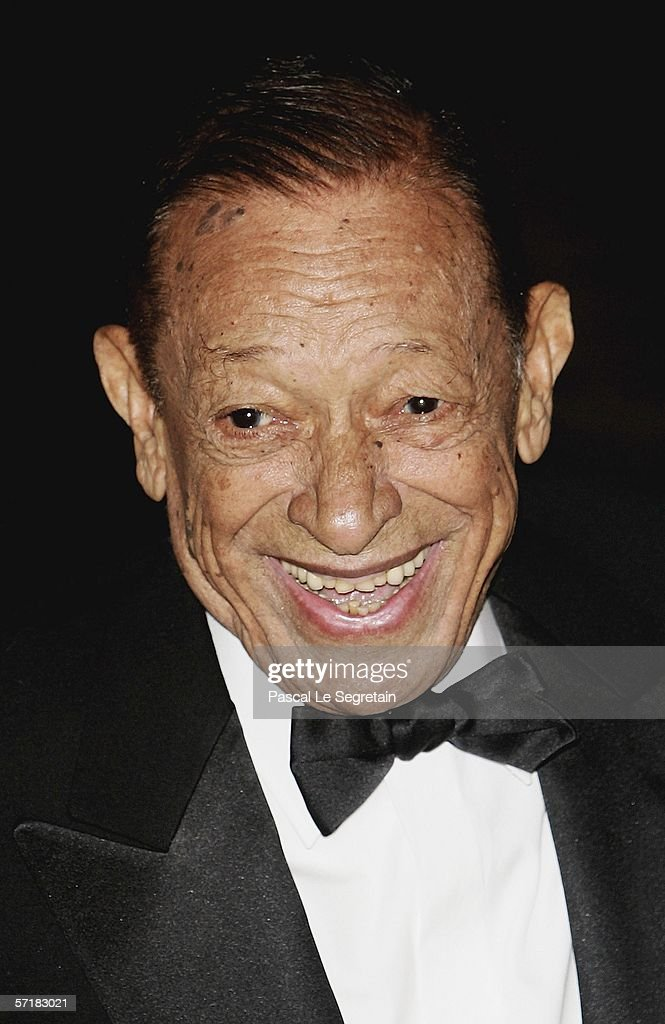 Singer Henri Salvador arrives at the Monte Carlo Rose Ball 2006 at The Sporting Club of Monte Carlo on March 25 2006 in Monte Carlo Monaco