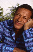 Singer Henri Salvador in the south of France July 1982