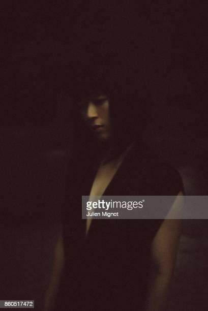 Singer Hikaru Utada is photographed for Universal Music on July 2016 in Paris France