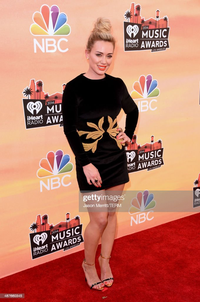 Singer Hilary Duff attends the 2014 iHeartRadio Music Awards held at The Shrine Auditorium on May 1, 2014 in Los Angeles, California. iHeartRadio Music Awards are being broadcast live on NBC.
