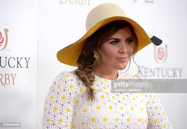 Singer Hillary Scott of Lady Antebellum attends the 142nd Kentucky Derby at Churchill Downs on May 07 2016 in Louisville Kentucky