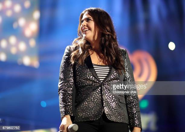 Singer Hillary Scott of Lady Antebellum performs onstage during the 2017 iHeartCountry Festival A Music Experience by ATT at The Frank Erwin Center...