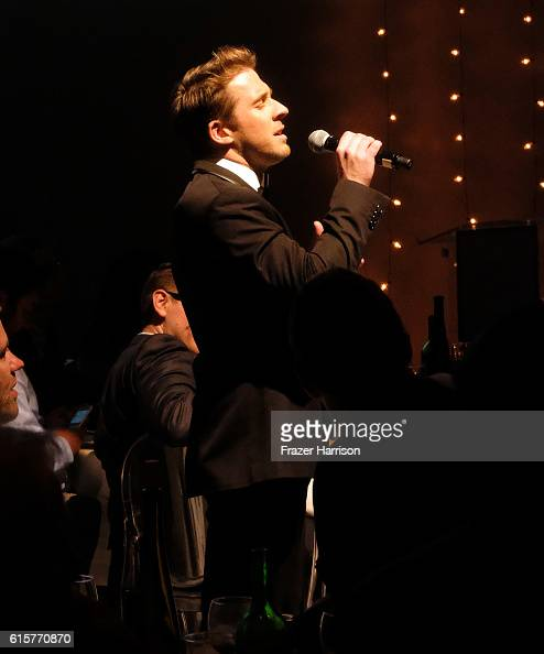Singer Hugh Sheridan performs onstage during Australians In Film's 5th Annual Awards Gala at NeueHouse Hollywood on October 19 2016 in Los Angeles...
