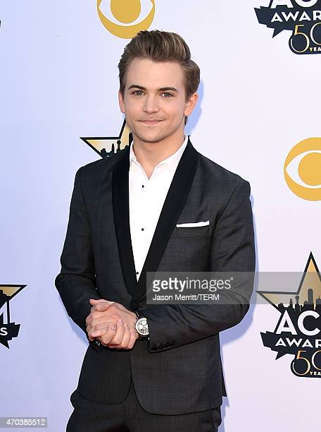 Singer Hunter Hayes attends the 50th Academy of Country Music Awards at ATT Stadium on April 19 2015 in Arlington Texas