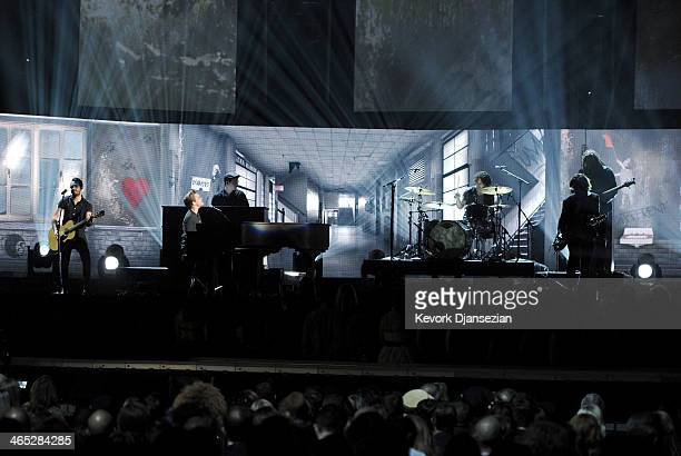 Singer Hunter Hayes performs onstage during the 56th GRAMMY Awards at Staples Center on January 26 2014 in Los Angeles California