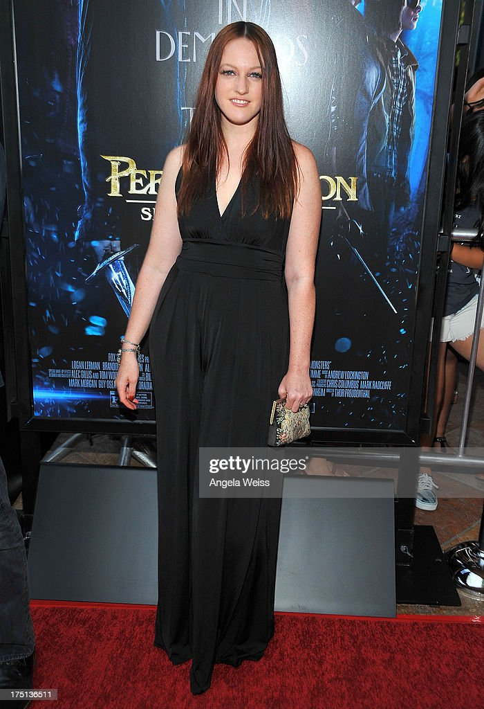Singer IAMEVE arrives at the premiere of 'Percy Jackson: Sea Of Monsters' at The Americana at Brand on July 31, 2013 in Glendale, California.