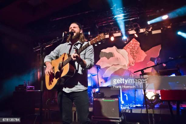 Singer Ian Hooper of Mighty Oaks performs live on stage during a concert at the Astra on May 3 2017 in Berlin Germany