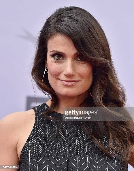 Singer Idina Menzel arrives at the 44th AFI Life Achievement Awards Gala Tribute to John Williams at Dolby Theatre on June 9 2016 in Hollywood...