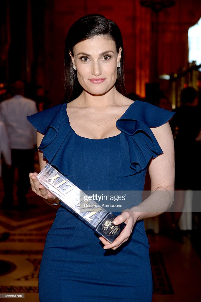 Singer Idina Menzel attends Variety Power Of Women New York presented by FYI at Cipriani 42nd Street on April 25 2014 in New York City