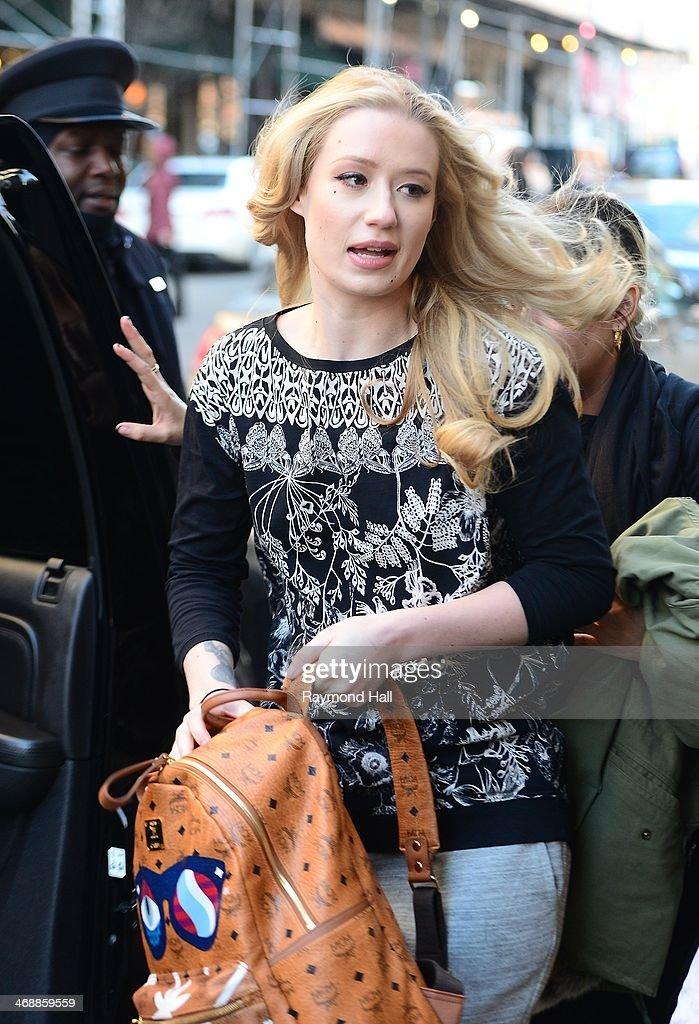 Singer Iggy Azalea is seen in Soho on February 11, 2014 in New York City.