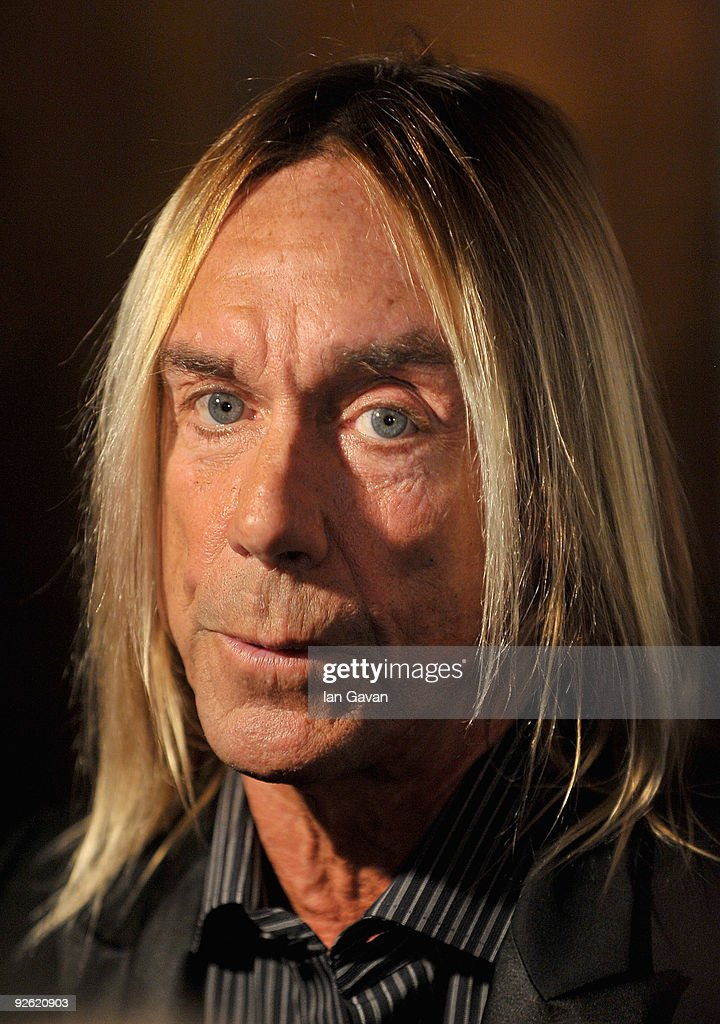 Singer Iggy Pop attends the Classic Rock Roll Of Honour Awards at the Park Lane Hotel on November 2, 2009 in London, England.