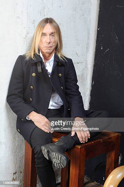 Singer Iggy Pop is photographed for Madame Figaro on May 14 2012 in Paris France PUBLISHED IMAGE Figaro ID 104090004 All by Eleven Paris CREDIT MUST...