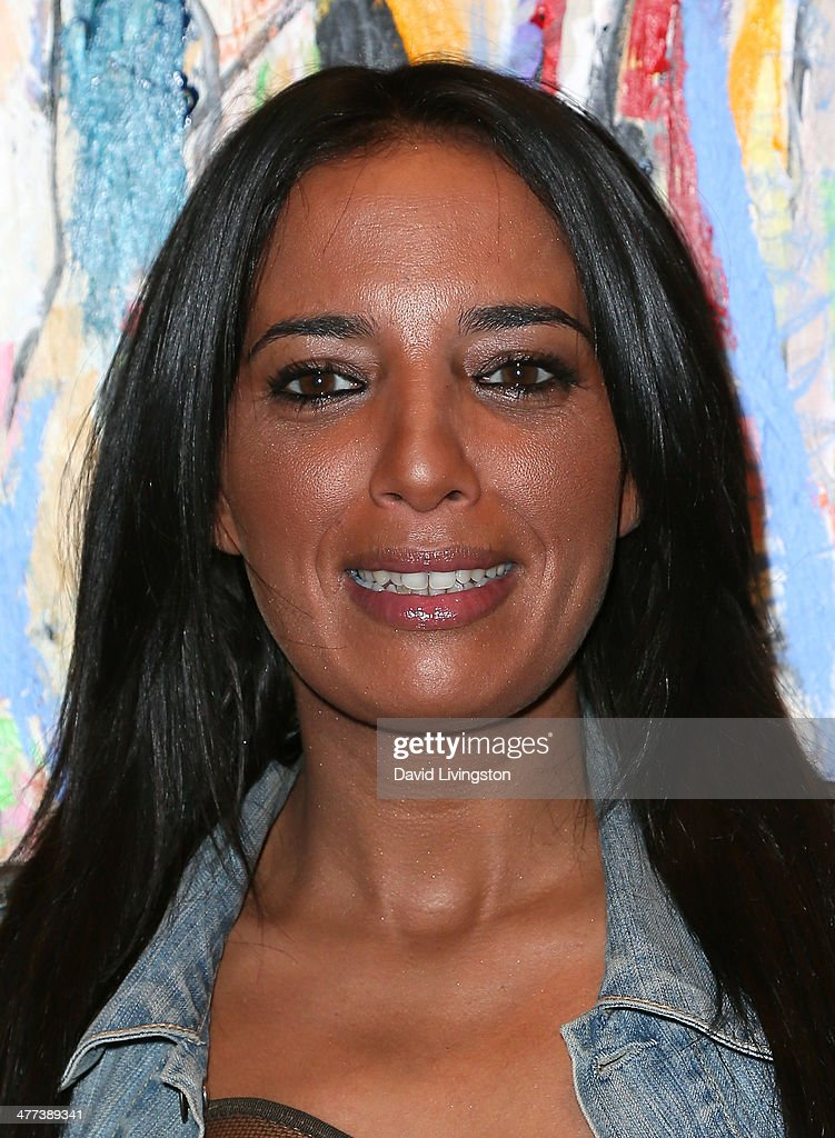 Singer Ilhame Paris attends the Alexander Yulish 'An Unquiet Mind' VIP opening reception at KM Fine Arts LA Studio on March 8, 2014 in Los Angeles, California.