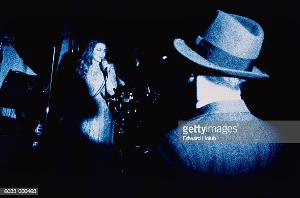 Singer in Nightclub