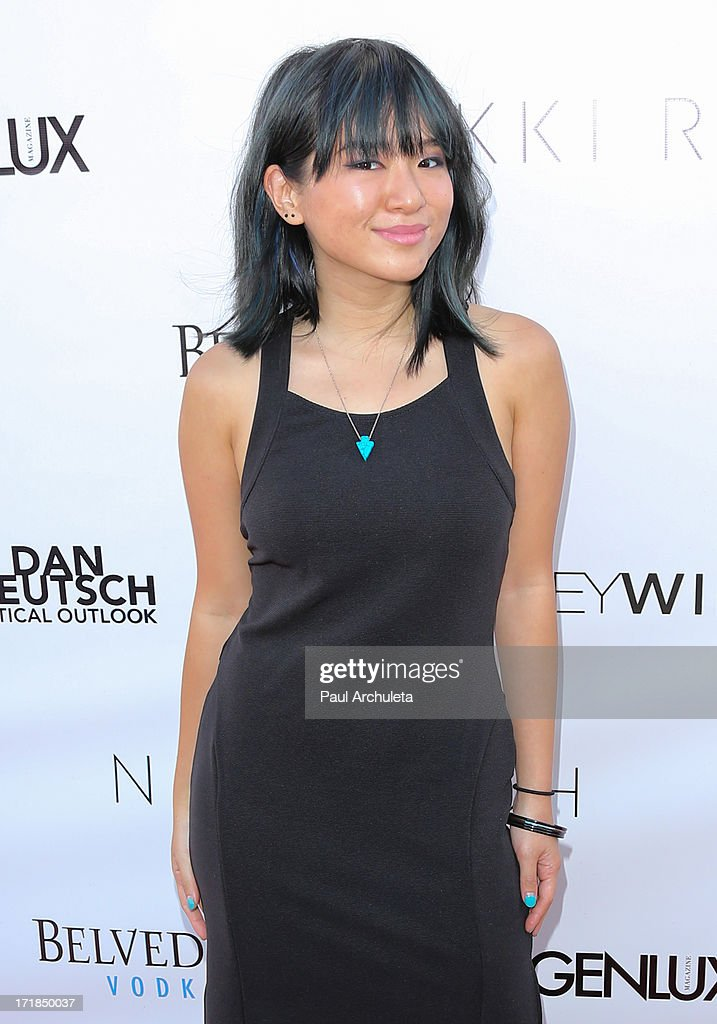 Singer Inch Chua attends the Genlux Magazine summer issue release party at the Luxe Rodeo Drive Hotel on June 28, 2013 in Beverly Hills, California.