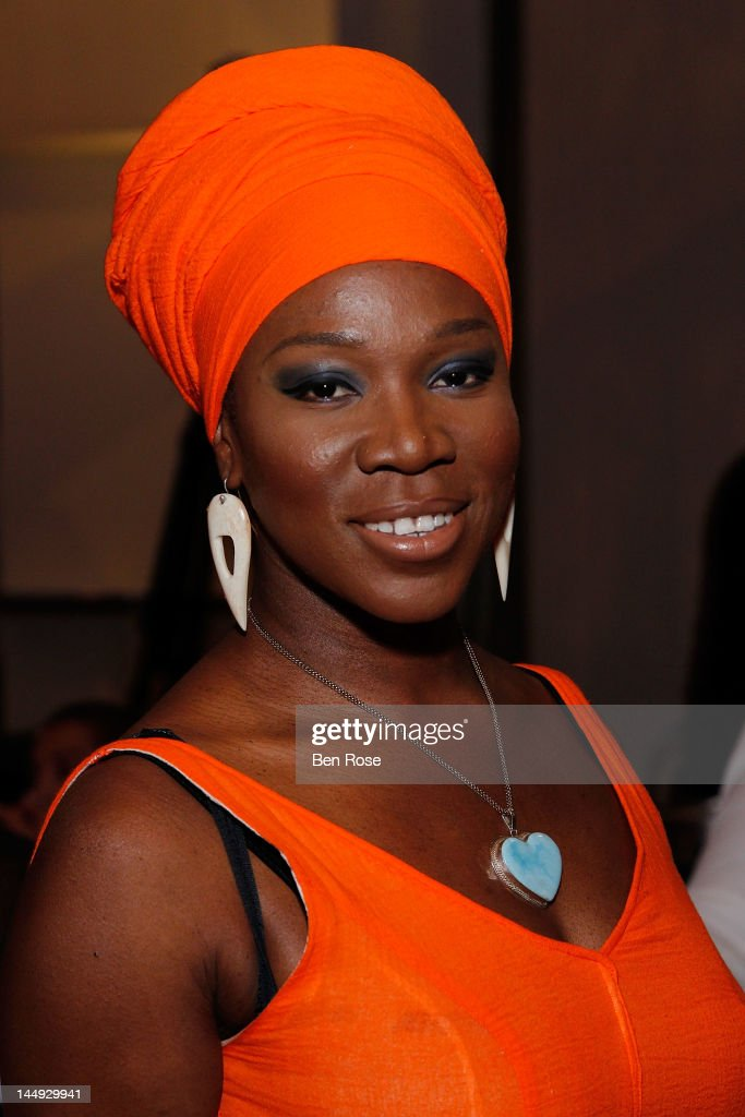 Singer India Arie arrives at The Andrew Young Foundation's celebration of the 80th birthday of Andrew Young at The Hyatt Regency Atlanta on May 20, 2012 in Atlanta, Georgia.