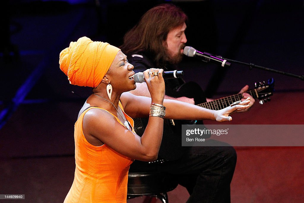 Singer India Arie performs during The Andrew Young Foundation's celebration of the 80th birthday of Andrew Young at The Hyatt Regency Atlanta on May 20, 2012 in Atlanta, Georgia.