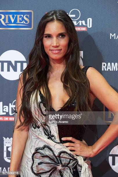 Singer India Martinez attends the Platino Awards 2017 photocall at the La Caja Magica on July 22 2017 in Madrid Spain