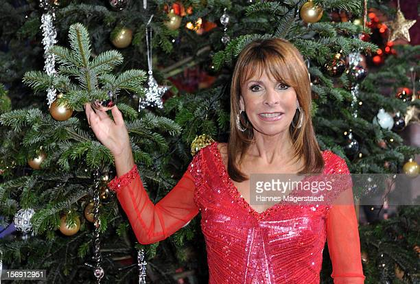 Singer Ireen Sheer attends the 'Heiligabend Mit Carmen Nebel' Show Taping at the Bavaria Studios on November 24 2012 in Munich Germany