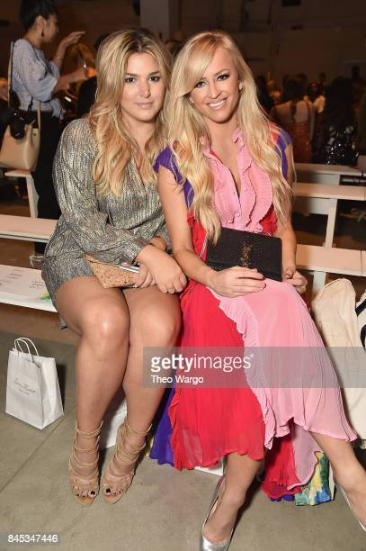 Singer Isabelle and Danielle Moinet attend Leanne Marshall fashion show during New York Fashion Week The Shows at Gallery 2 Skylight Clarkson Sq on...