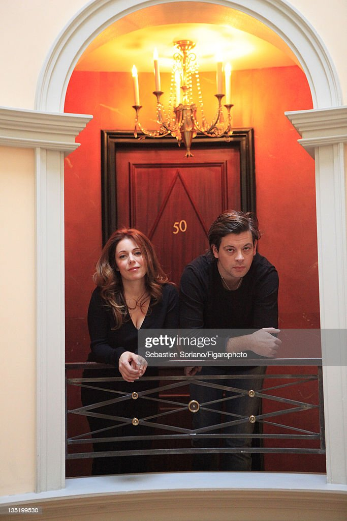 Isabelle Boulay and Benjamin Biolay, Le Figaro Magazine, December 3, 2011