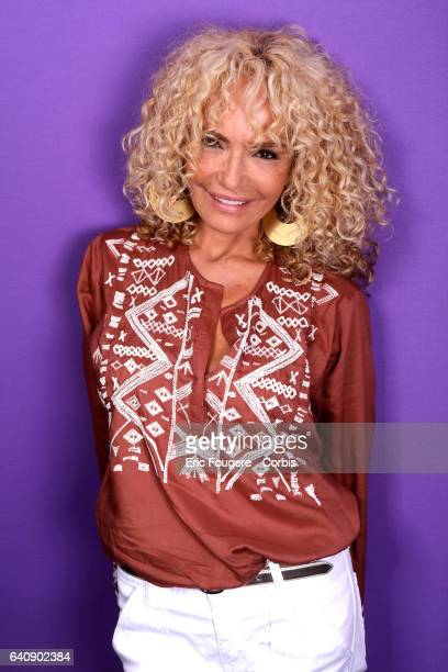 Singer Ishtar poses during a portrait session on August 25 2016 in Paris France