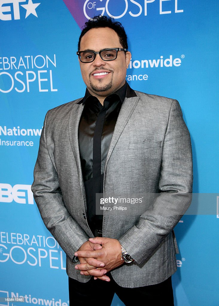 Singer <a gi-track='captionPersonalityLinkClicked' href=/galleries/search?phrase=Israel+Houghton&family=editorial&specificpeople=2560002 ng-click='$event.stopPropagation()'>Israel Houghton</a> attends the BET Celebration of Gospel 2013 at Orpheum Theatre on March 16, 2013 in Los Angeles, California.