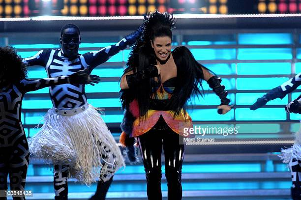 Singer Ivete Sangalo performs during Multishow Live at Madison Square Garden on September 4 2010 in New York City