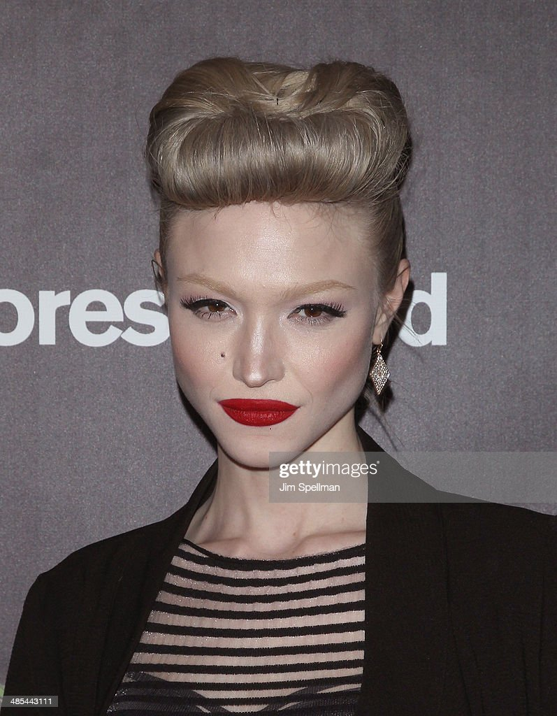 Singer Ivy Levan attends the 25th Anniversary Rainforest Fund Benefit at Mandarin Oriental Hotel on April 17, 2014 in New York City.