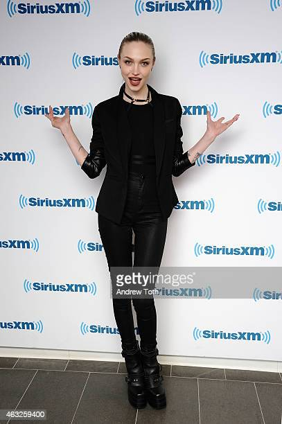 Singer Ivy Levan visits SiriusXM Studios on February 12 2015 in New York City