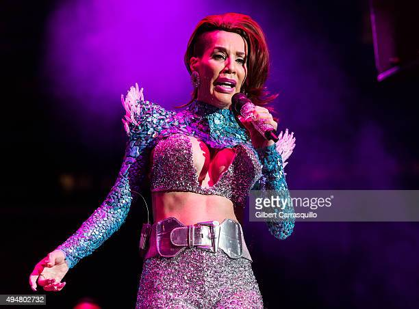 Singer Ivy Queen performs during Mega 979 Megaton Concert at Madison Square Garden on October 28 2015 in New York City