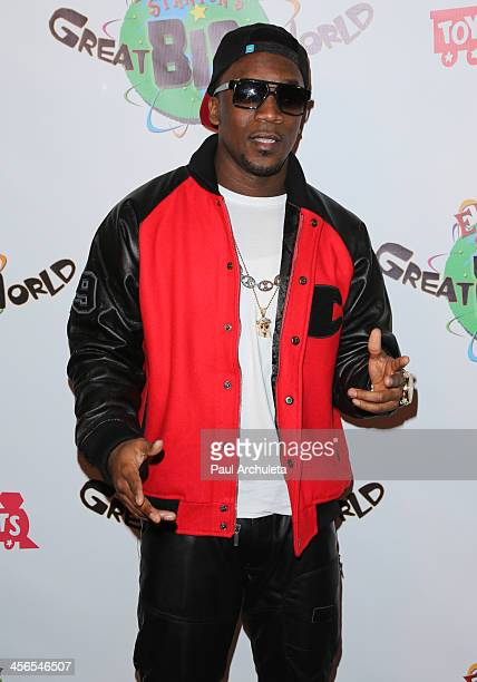 Singer Iyaz attends Elizabeth Stanton's 18th Birthday benefiting Toys For Tots at Belasco Theatre on December 13 2013 in Los Angeles California
