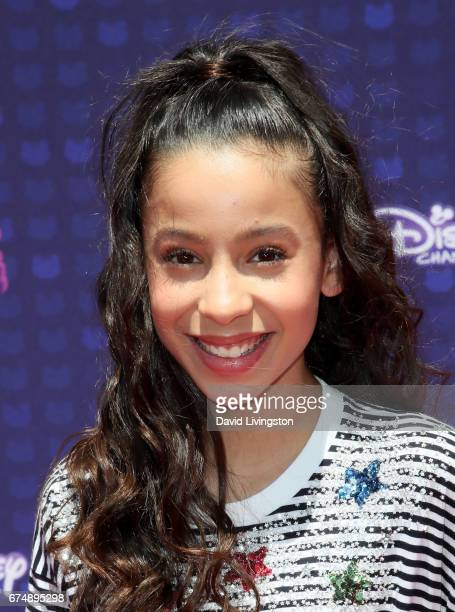 Singer Izabella Alvarez attends the 2017 Radio Disney Music Awards at Microsoft Theater on April 29 2017 in Los Angeles California
