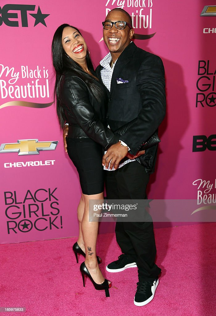 Singer <a gi-track='captionPersonalityLinkClicked' href=/galleries/search?phrase=Ja+Rule&family=editorial&specificpeople=202108 ng-click='$event.stopPropagation()'>Ja Rule</a> (R) and Aisha Atkins attend Black Girls Rock! 2013 at New Jersey Performing Arts Center on October 26, 2013 in Newark, New Jersey.