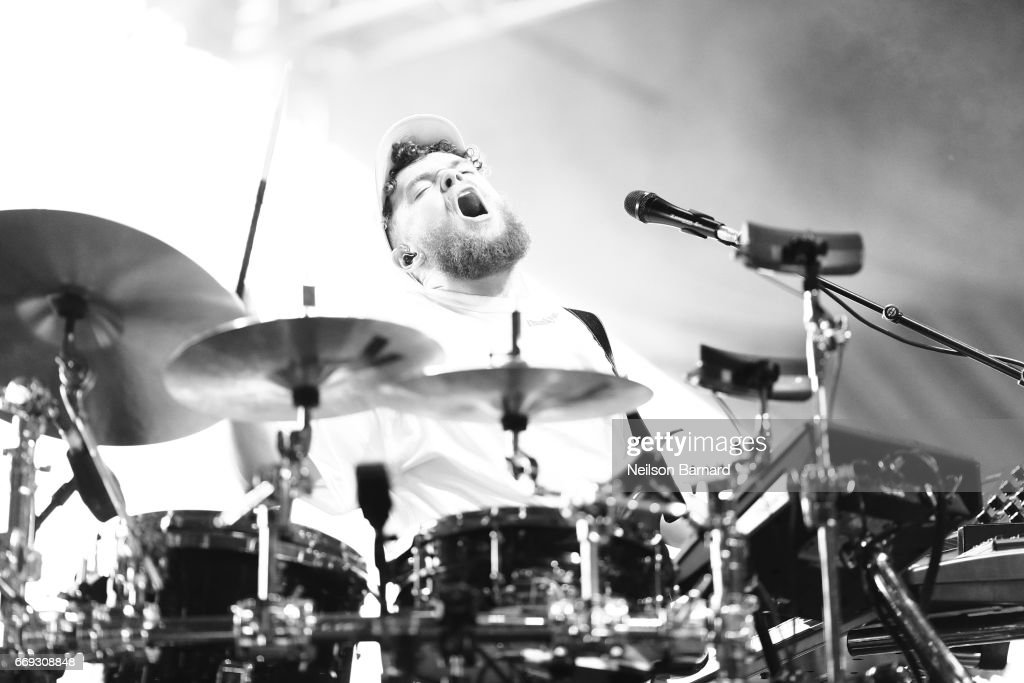 Singer Jack Garratt performs on the Coachella Stage during day 3 of the Coachella Valley Music And Arts Festival (Weekend 1) at the Empire Polo Club on April 16, 2017 in Indio, California.