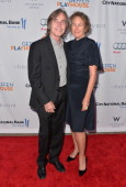 Singer Jackson Browne and Dianna Cohen arrive to The Geffen Playhouse's Annual 'Backstage at the Geffen' Gala at Geffen Playhouse on May 13 2013 in...