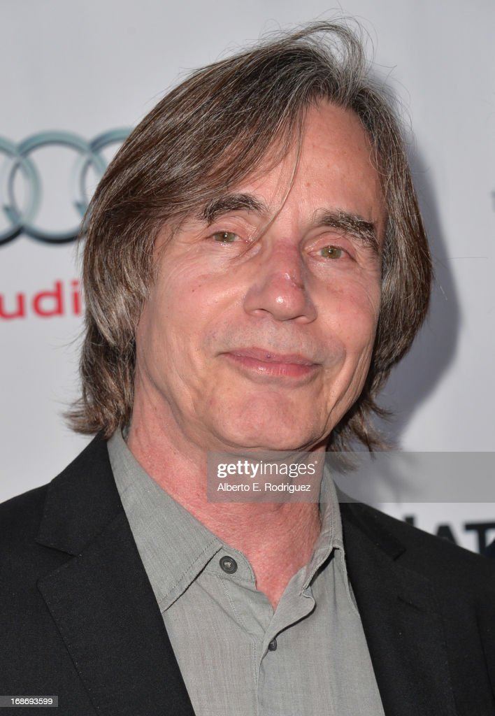 Singer Jackson Browne arrives to The Geffen Playhouse's Annual 'Backstage at the Geffen' Gala at Geffen Playhouse on May 13, 2013 in Los Angeles, California.