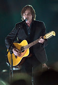 Singer Jackson Browne performs onstage at the 25th anniversary MusiCares 2015 Person Of The Year Gala honoring Bob Dylan at the Los Angeles...