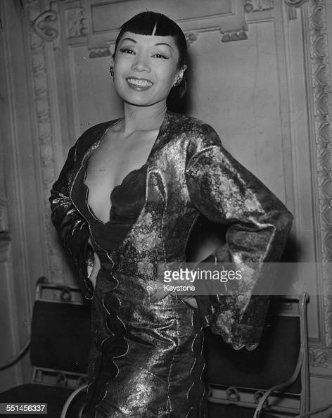 Singer Jadine Wong attending the gala premiere of the film 'Androcles and the Lion' at the Rialto Venice October 17th 1953