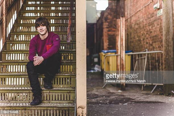 Singer Jake Bugg is photographed for Paris Match on February 19 2013 in Birmingham England