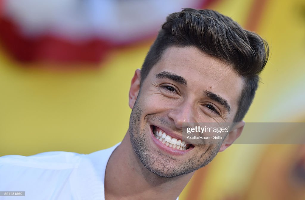 Singer Jake Miller arrives at the premiere of Sony's 'Sausage Party' at Regency Village Theatre on August 9 2016 in Westwood California