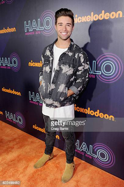 Singer Jake Miller attends the 2016 Nickelodeon HALO awards at Basketball City Pier 36 South Street on November 11 2016 in New York City