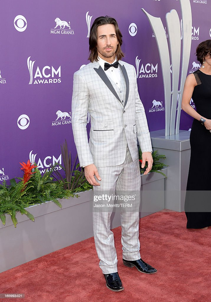 Singer Jake Owen attends the 48th Annual Academy of Country Music Awards at the MGM Grand Garden Arena on April 7, 2013 in Las Vegas, Nevada.