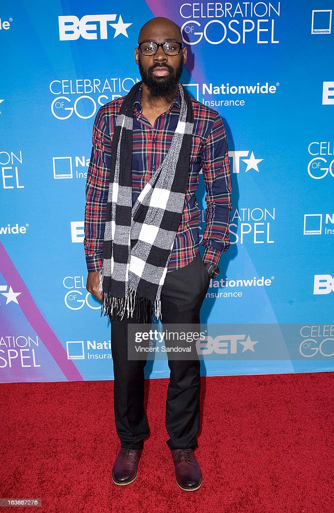 Singer Jamaal 'Mali Music' Pollard attends the BET 13th annual 'Celebration Of Gospel' at Orpheum Theatre on March 16, 2013 in Los Angeles, California.